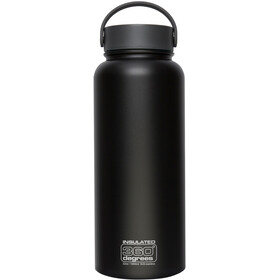 360° degrees Wide Mouth Insul Drink Bottle 1l Black